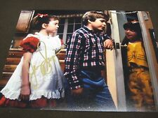 SMALL WONDER TV STAR  JERRY SUPIRAN GOLD AUTOGRAPHED 8X10 PHOTO W/ COA !