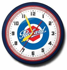 Packard Automobile Logo Neon Wall Clock Hand Made In The USA 20 Inch Diameter