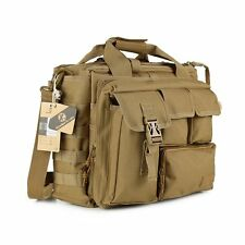 "Men's Nylon Military Tactical Shoulder Bag Handbag Briefcase Tote For 14"" Laptop"