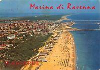 Cartolina Marina di Ravenna panorama aereo