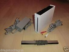 Nintendo Wii Weiß inkl. Kabeln, ohne Controller, LESEN, 1 Jahr Garantie