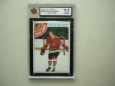 1978/79 TOPPS NHL HOCKEY CARD #168 DOUG WILSON ROOKIE KSA 9.5 NR GEM MINT SHARP+