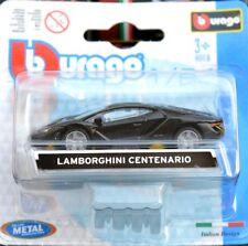 LAMBORGHINI CENTENARIO 1:64 (7 cm) Model Toy Car Diecast Miniature Grey