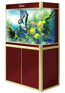 100 Gallon Fish Tank Premium Tempered Ultra Clear Glass Complete Aquarium Setup