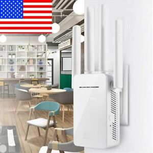 Wifi Repeater Wireless Router Range Extender Signal Booster With 4 Antenna US