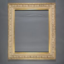 Antiqued Pastel Gold Color Frame Impressionist