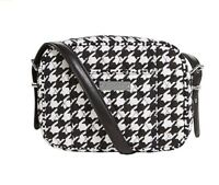 Vera Bradley Be Colorful Crossbody Midnight Houndstooth 2 Faux Leather Strap NWT
