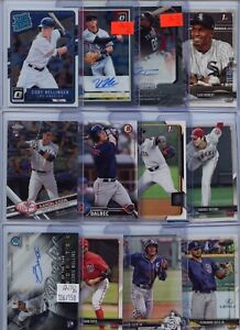 PREMIUM AUTO JERSEY REFRACTOR ROOKIE PROSPECT MLB BASEBALL CARD COLLECTION LOT