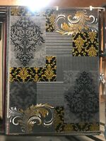 Yellow/Gray designer area rug for the home 5x8 New!!