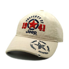 Jeep Hat 1941 Red Star Baseball Golf Ball Casual Embroidery Khaki Cap