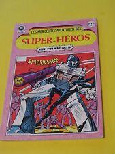 1984 SPIDER-MAN   #74 RARE FRENCH HÉRITAGE EDITION TRANS-FORMERS GI-JOE