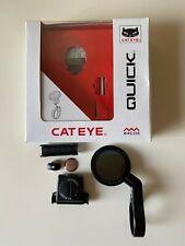 Cateye Quick Wireless Cycle Computer - Used Twice
