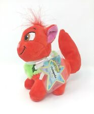 Neopets Christmas Wocky Red Stuffed Plush Series 5 W/ Tag