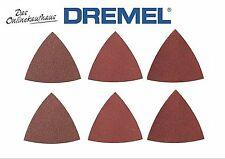 DREMEL 6x Delta Klett Schleifpapier für Dremel Multi-Max für Holz P 60/120/240