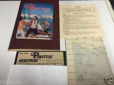 Piraten! Piraten Micro Prose Game Apple ii II Plus iie old Vintage