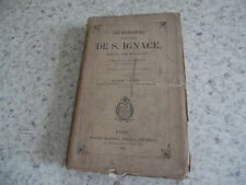 1865.Exercices de Saint Ignace.Manuel retraites.Pinamonti