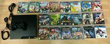 Sony PlayStation 3 PS3 Slim 250GB Console Bundle Kids Games MINECRAFT LEGO FIFA