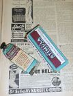 Vintage Quack Medicine Collectible Patch's Stimula Tube and Box Pharmacy Drug