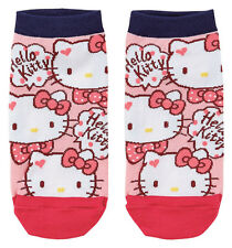 Sanrio Hello Kitty Busy Face Low Cut Socks
