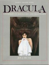 DRACULA: A SYMPHONY in MOONLIGHT and NIGHTMARES by JON J MUTH MARVEL GN 1986