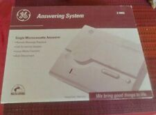 GE Single Microcassette Answering System