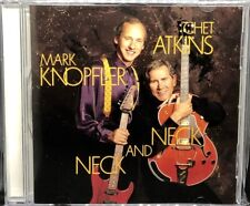 MARK KNOPFLER & CHET ATKINS - NECK AND NECK, CD ALBUM, (1990).