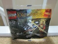 LEGO Lord Of The Rings  Brand New Polybag Kit 30211 Uruk-Hai with Ballista