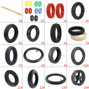 8.5 Inch Solid Tire Front/Rear Inner Tube for Xiaomi Mijia M365 Electric Scooter