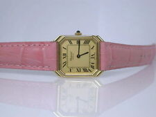 Elegante Mechanisch-(Handaufzug) Armbanduhren aus echtem Leder für Damen