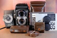 Yashica- 635 Complete Set  With a Gossen Meter,