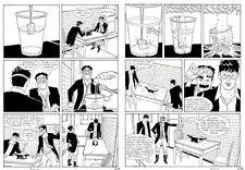 """GIORGIO PONTRELLI  - Dylan Dog n.344 """" Il sapore dell'acqua """" p.62-63"""
