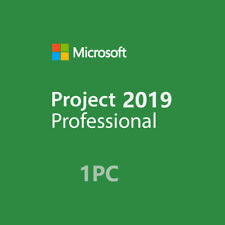MS PROJECT 2019 PROFESSIONAL 32/64 BIT GENUINE PRODUCT ACTIVATION KEY
