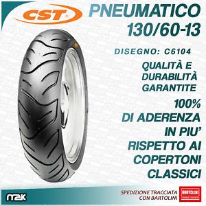 PNEUMATICO COPERTONE GOMMA 130/60-13 130 60 R 13 PIAGGIO NRG MC2 MC3 PUREJET 50