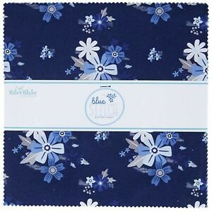 """Blue Stitch 10"""" Stacker by Christopher Thompson for Riley Blake Designs"""