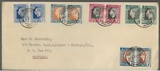 1937 South Africa King George VI Coronation Cover  FDC