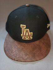 NEW ERA 9 FIFTY MLB LA DODGERS BLACK BROWN SNAKE GOLD SNAPBACK MENS HAT NEW