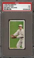 Rare 1909-11 T206 Chief Myers Meyers Fielding Sovereign 350 New York PSA 1.5