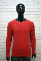 Maglione Uomo MARBORO CLASSICS Taglia L Pullover Felpa Girocollo Cotone Sweater