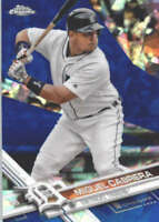 MIGUEL CABRERA 2017 TOPPS CHROME SAPPHIRE EDITION #150 ONLY 250 MADE