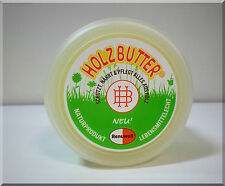 Renuwell Holzbutter Möbelpflege Holzschutz Holzpflege  Naturprodukt 250 ml  NEU