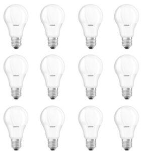 OSRAM LED BASE CLASSIC A100 E27 14W=100W 1521lm 200° warm white 2700K nodim 12er