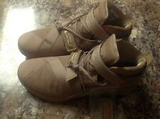 Nike Lebron Soldier IX Premium Shoes -DS-LBJ Army- Style# 749490 222- Sz 18 NWOB