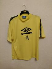 VINTAGE CHELSEA FOOTBALL TRAINING SHIRT 90s MENS XL