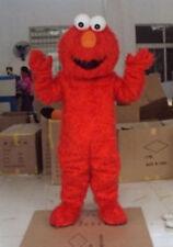 Elmo Mascot Monster Costume Sesame Street Fancy Party Dress Adult
