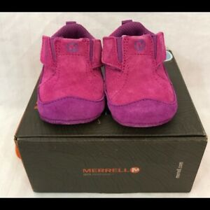 Merrell New first shoes baby girl fuchsia pink 2