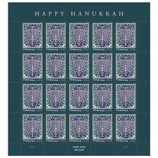 USPS New Hanukkah 2018 Pane of 20