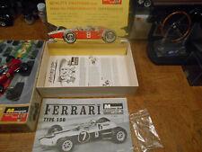 ORIGINAL VINTAGE MONOGRAM 1/32 ND SCALE FERRARI GP FORMULA 1 SLOT CAR W/BOX !!!!