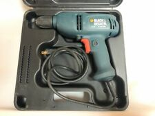 "Black/Decker 4.5 Amp #Dr220 Type 2 , 3/8"" 0-1350/Min Corded Drill"