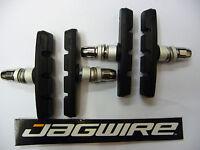 BRAKE BLOCKS  JAGWIRE 2 Pair V Pads Bike MTB Hybrid Mountain Bike NEW <Centered>
