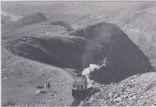 WALES              Snowdon Mountain Railway rack train in 1962